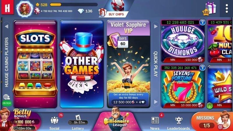 Game Mesin Slot di Huuuge Games